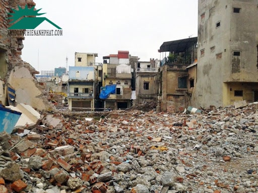 Phá dỡ nhà tại Đồng Nai